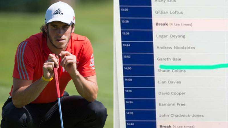 Gareth Bale Is Playing Golf With Tottenham Hotspur Chairman Daniel Levy Today
