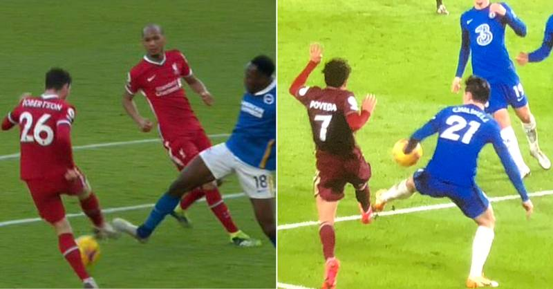 Liverpool Fans Upset With VAR After Chelsea Avoid Penalty For 'Near Identical' Incident