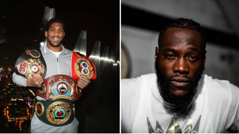 Anthony Joshua Responds To Deontay Wilder's Attack On His Performance