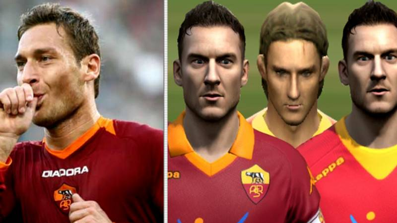 Francesco Totti's Evolution On FIFA Games Through The Years