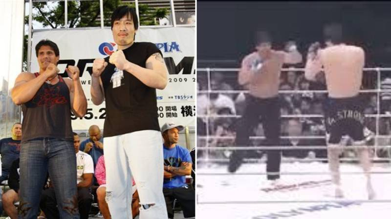 When Former Basesball Star Jose Canseco Fought Choi Hong-man In An MMA Fight