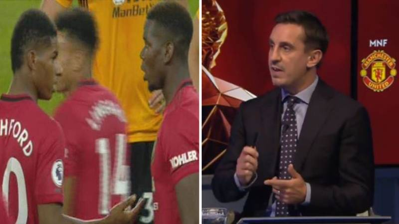 "Gary Neville Angry Over Paul Pogba's Penalty Miss And Says ""Something Is Not Right"" At Manchester United"