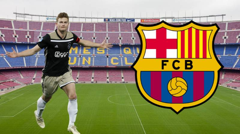 Matthijs De Ligt Willing To Reject Other Offers To Wait For Barcelona