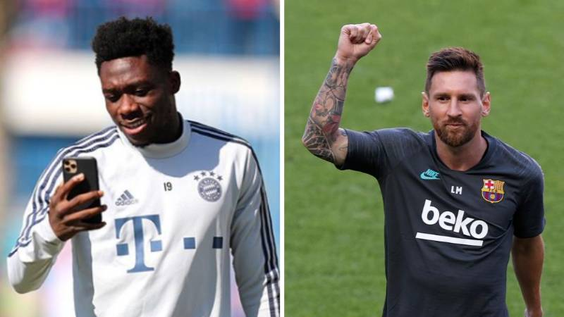 Alphonso Davies Opens Up On The Brilliant Phone Call He Had With His Dad About Facing Lionel Messi