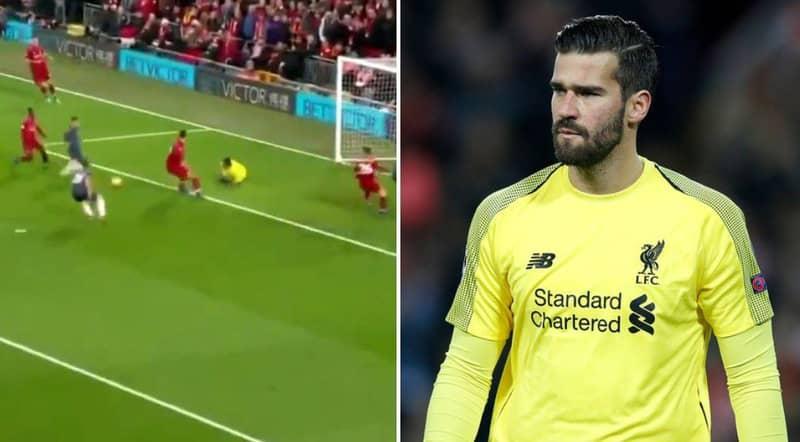 Jesse Lingard Scores Manchester United's Equaliser Against Liverpool After Alisson's Howler