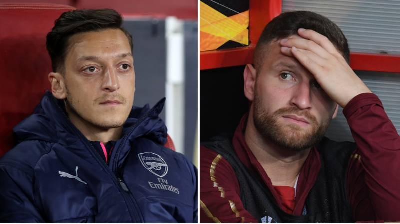 Shkodran Mustafi Appears To Take Shot At Arsenal In Farewell Message To Mesut Ozil
