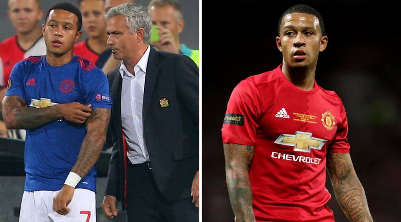 What Memphis Depay Told José Mourinho Before He Left Manchester United