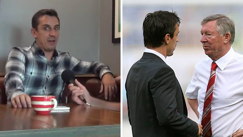 """Gary Neville Recalls What Happened When He Told Sir Alex Ferguson To """"F**k Off"""""""