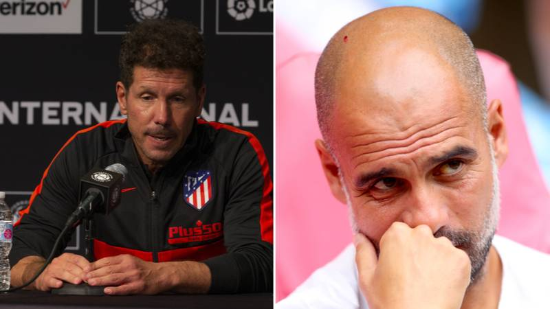 """Diego Simeone Says Manchester City """"Have No History"""" As They've Just Been """"Born"""""""