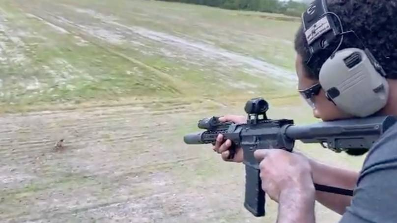 Jon Jones Sparks Outrage Among Fans After Sharing Video Of Him Shooting A Wild Boar