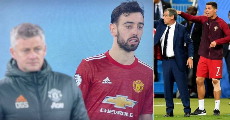 Manchester United Fans Loved Bruno Fernandes Watching On Like A Manager On Sidelines