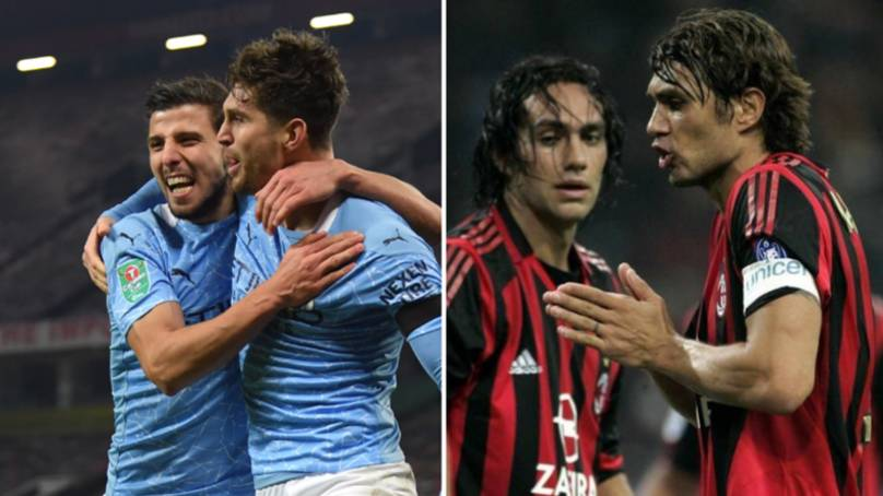 John Stones And Ruben Dias Are Getting Compared To Paolo Maldini And Alessandro Nesta