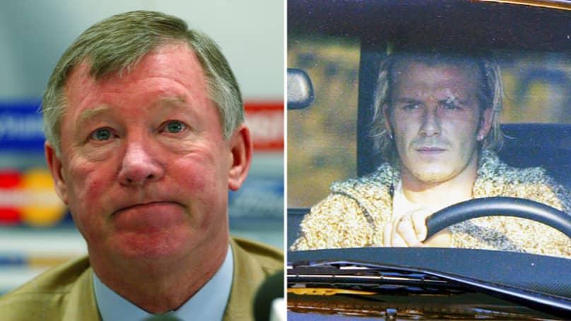 What Happened When Sir Alex Ferguson Kicked A Boot At David Beckham