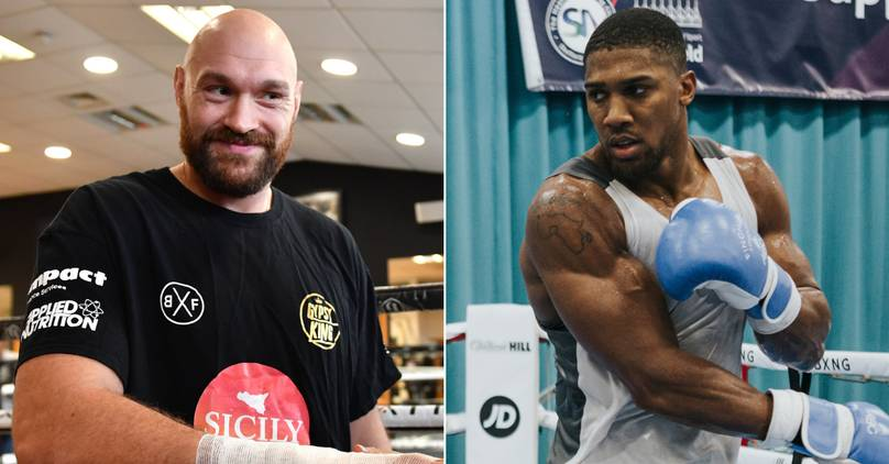 Anthony Joshua Opens Up On Sparring Tyson Fury: 'He Couldn't Handle Me - I Whupped Him'