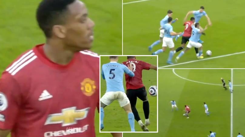 Anthony Martial Dropped A Masterclass Against Man City And His Individual Highlights Are Something Else