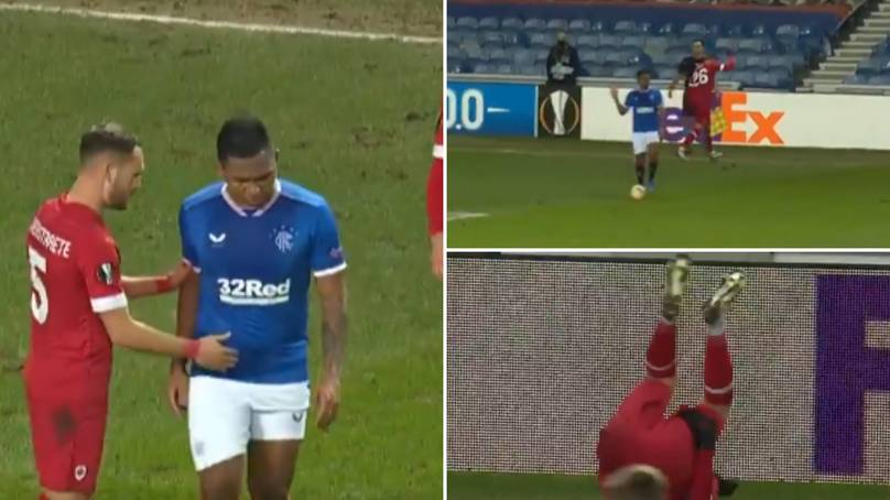 Alfredo Morelos Stops Play During Attack In Brilliant Show Of Sportsmanship