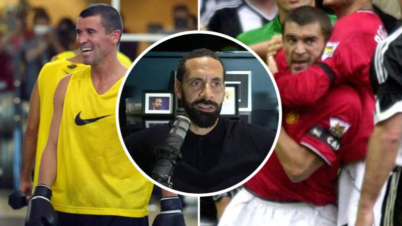 Rio Ferdinand Recalls Story Of Roy Keane Punching Manchester United Teammate In Training