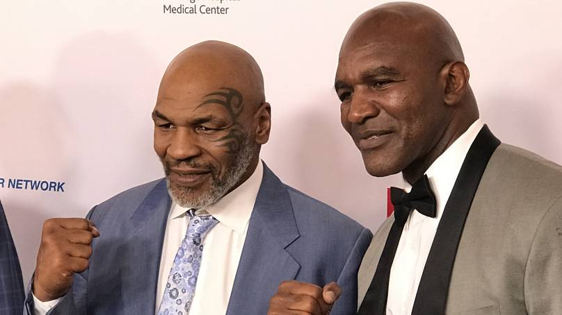 Mike Tyson And Evander Holyfield Trilogy Bout In The Works