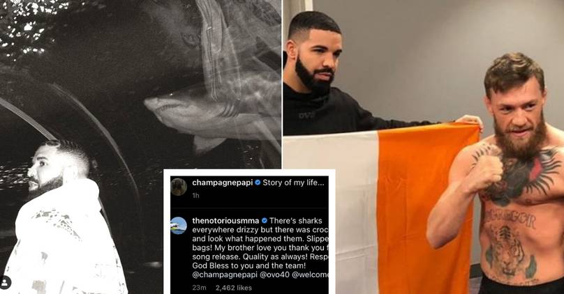 Conor McGregor And Drake Share 'Hilarious' Exchange On Social Media