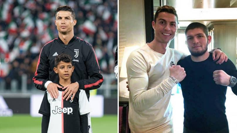 Cristiano Ronaldo Tells Khabib Nurmagomedov His Worry About His Son, Cristiano Jr