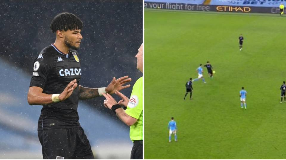 Tyrone Mings Hits Out At 'Nonsense' Offside Rule For Manchester City Goal